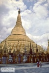 The golden pagoda Shwedagon