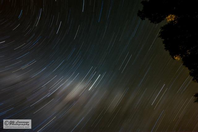 Star trails 2 Sep 2008 in Sendelingsdrif at 9pm (50.6 min, f/6,0, ISO400)