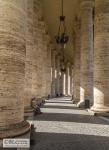 Colonnade of Piazza San Pietro, designed by Gian Lorenzo Bernini (2011)