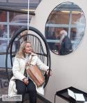 Parolan Rottingin tuolissa on hyvä saada henkeviä ajatuksia ja vaikka haaveilla ...