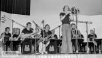 Trombone solist Bertil Strandberg. Trumpets: Lennart Burman, Ove Östman. Saxophones: Hans Schöllin, Åke Thordendahl, Bo Bergqvist. Trombone: Olof Grahn