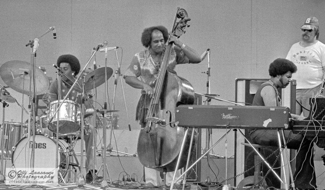 Roy McCurdy (dr), Walter Booker (b), George Duke (p) and a roadie