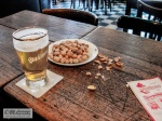 Beer and peanuts keeps you going.