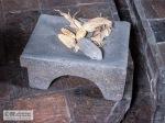 An old maize grinder in the Quinta de Bolivar.