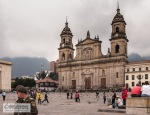 Primary Cathedral of Bogotá on the Bolivár Square
