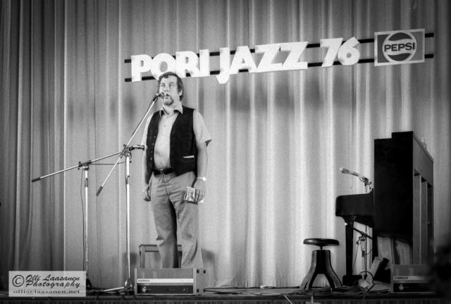 Matti Konttinen, Pori Jazz, Riihikedon koulu 17.7.1976