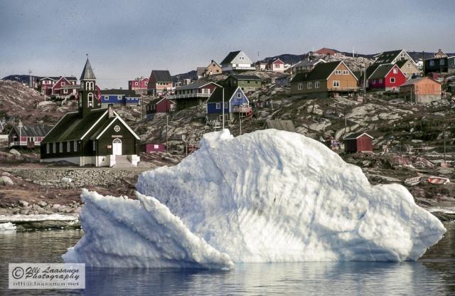 Ilulissat, Greenland, May 1988