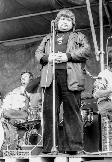 Jussi Raittinen DDT Jazz Bandin solistina 19.6.1971 Vaasassa.