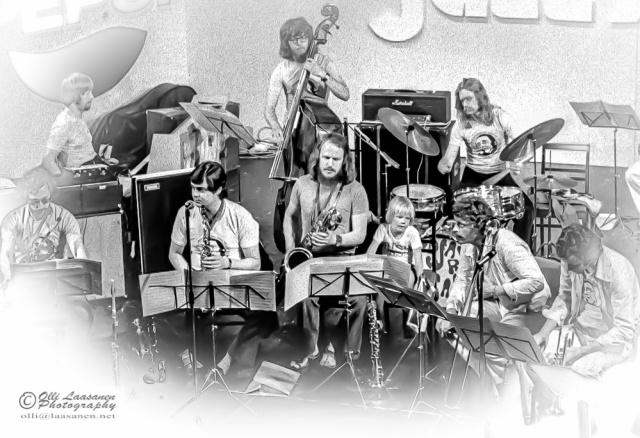Paroni Paakkuna ja Nordic All Stars, Pori Jazz 1972