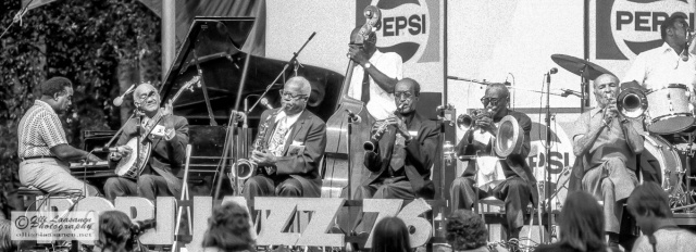 Preservation Hall Jazz Band in Pori Jazz, July 17, 1976