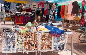 Handicrafts at the nearby market.