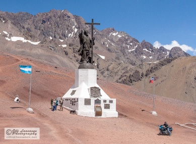 Standing 13 meter height, the statue is a grand monument of the peace between Argentina and Chile.