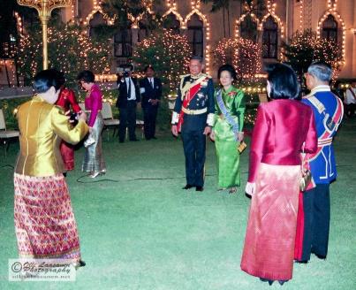 King's birthday celebration in Bangkok 1992.