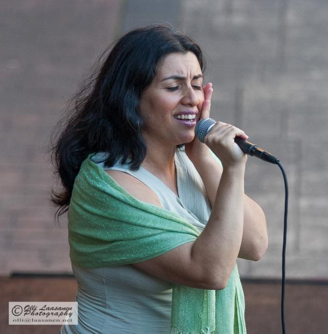 Tango Singer in San Isidro, Argentina