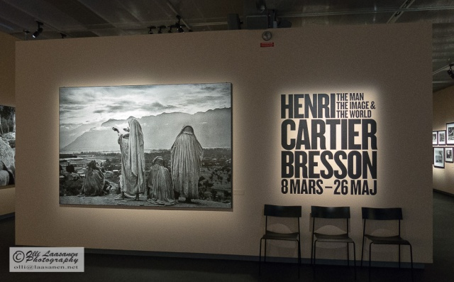 Henri Cartier-Bresson in Fotografiska, Stockholm, Sweden.