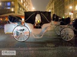Carried away in the rain with the candle-lit carriages ...