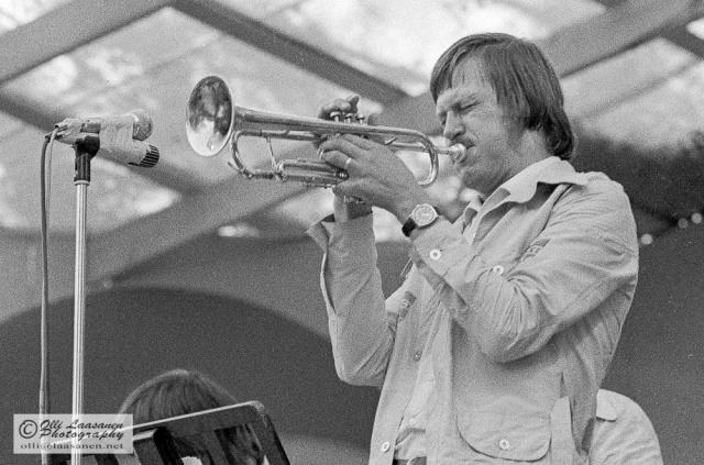 Kaj Backlund Pori Jazzissa 1972