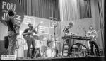 The New Gary Burton Quintet. Steve Swallow in bass.