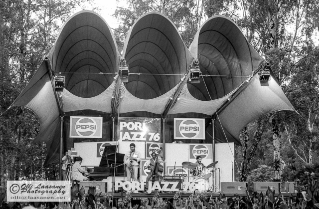 Cedar Walton Quartet in Pori Jazz 1976
