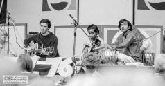 John McLaughlin (guitar), L. Shankar (violin) and Zakir Hussain (tabla) - July 17, 1976