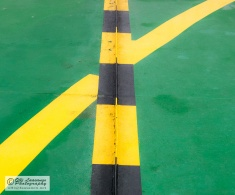 Straight ahead or turning right?