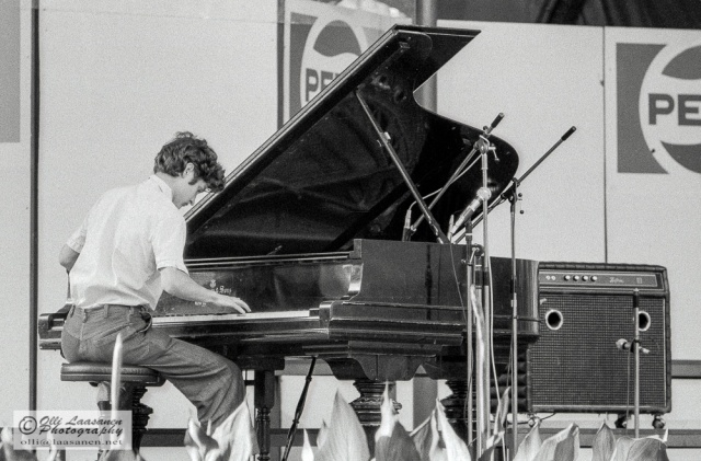 Frigyes Pleszkán in Pori Jazz, July 18, 1976