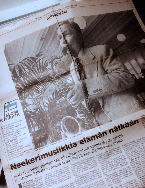 Helsingin Sanomat 25.10.1987