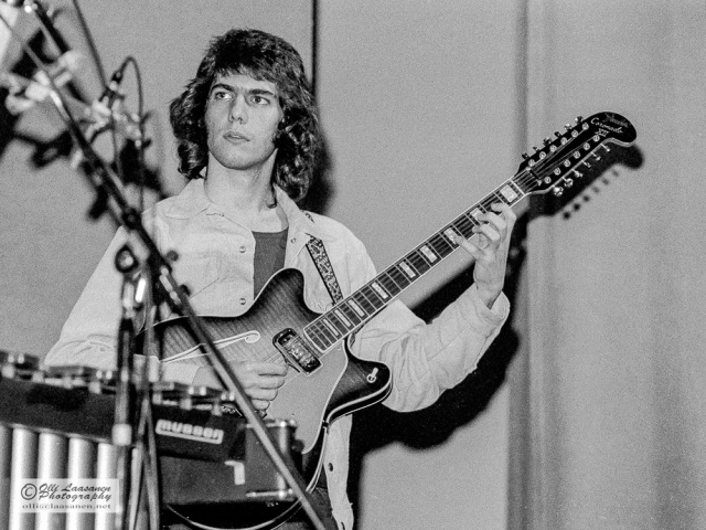 Pat Metheny and Fender Coronado XII in Pori Jazz 12 July 1974