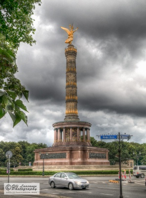 Victory Column, designed by Heinrich Strack, is 67 meter high.
