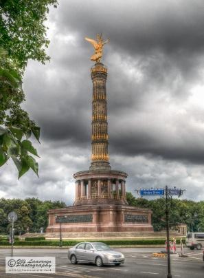 Victory Column, designed by Heinrich Strack, is 67 meter high.