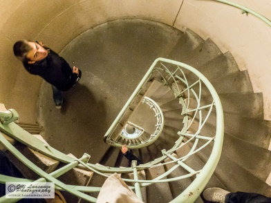 There are 285 steps to the top of the column.