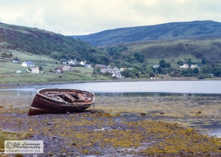 Bay of Uig during low tide