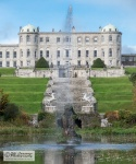 Powerscourt seen from the garden