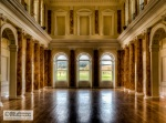 Main hall of Powerscourt (only two main rooms are open for visitors)