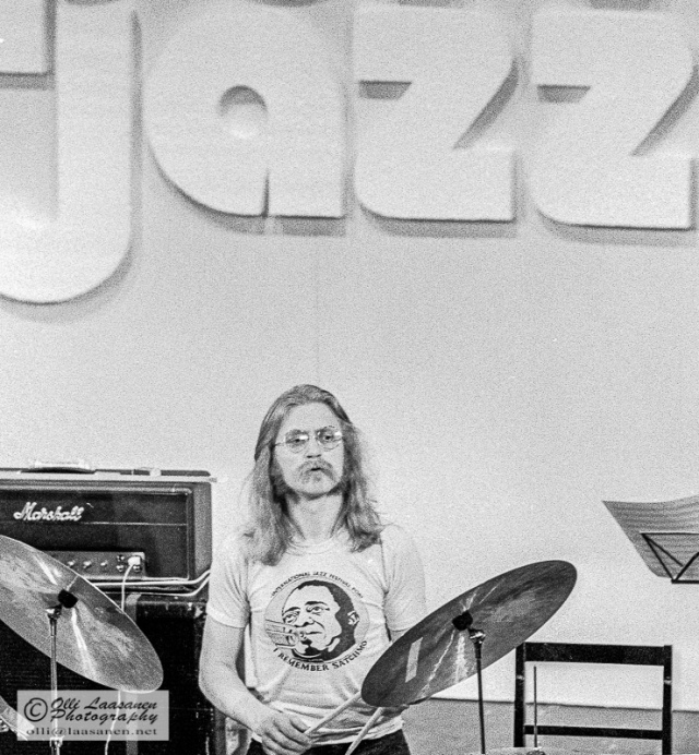 Edward Vesala, Pori Jazz 1972 in Finland