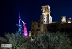 Hotel like a sail. Dubai, UAE.