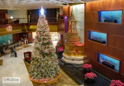 Christmas in the hotel. Bangkok, Thailand