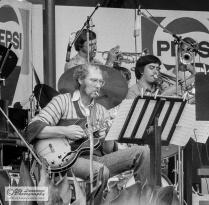Otto Berger (g), Kaj Backlund (tp) and Tom Bildo (tb)