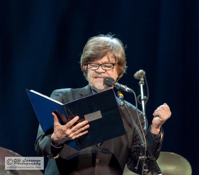 M. A. Numminen We Jazz -tapahtumassa 9.12.2013.