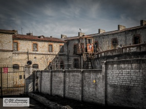 Patarei Prison, the gate on the east side