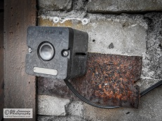 The doorbell, made in Soviet Union.