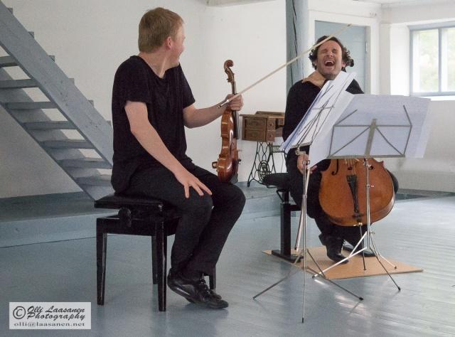 Pekka Kuusisto ja Nikolas Altstaedt