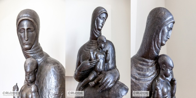 Madonna and Child were a common object in Meštrović's sculptures.