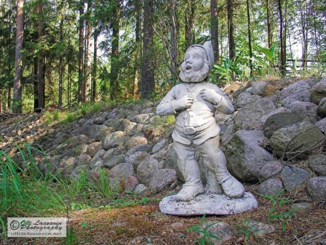 Garden gnome in Finland