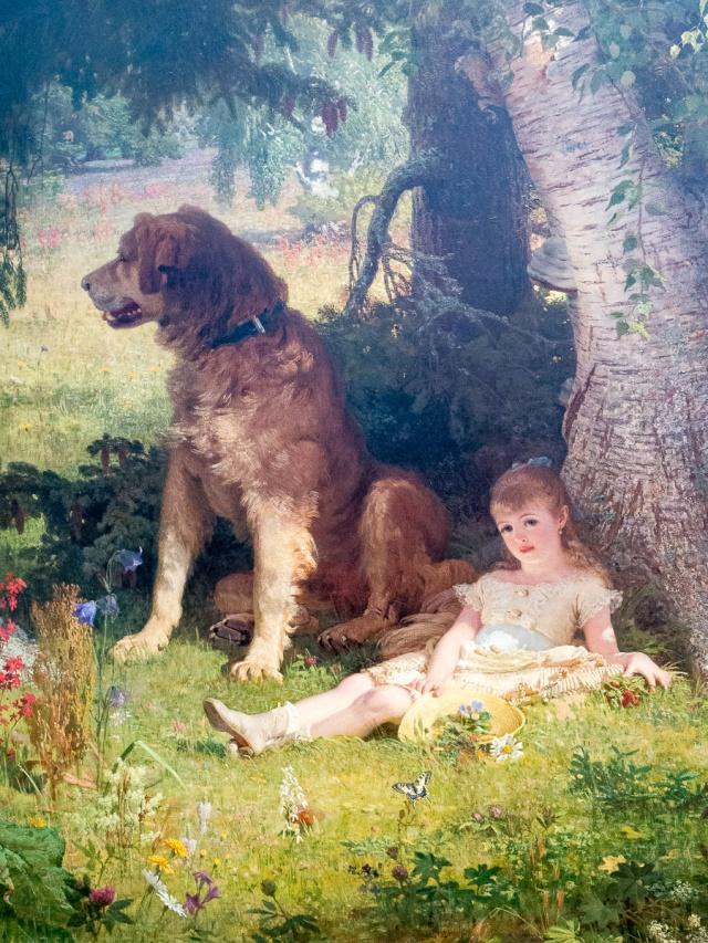 Faithful Guardian (1878) by Johann Köler