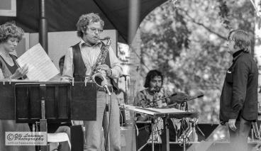 UMO Jazz Orchestra, Pori 18 July 1976: Maija Hapuoja (voc), Eero Koivistoinen (ts), Mircea Stan (tb), Esko Linnavalli (cond)