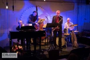 Lavaklubi, Helsinki 10 December 2015: Olli Ahvenlahti (p), Wade Mikkola (b), Eero Koivistoinen (ts), Tomi Parkkonen (dr)