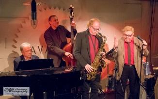 Lavaklubi, Helsinki 10 December 2015: Jaakko Harjula (p), Wade Mikkola (b), Eero Koivistoinen (ts), Eero Raittinen (voc)